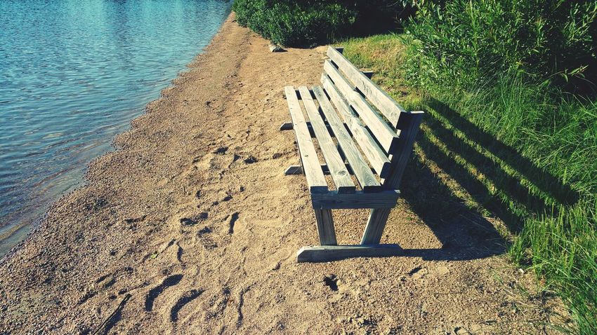 EyeEm Selects Day High Angle View Outdoors Nature Shadow Sunlight Relaxation Water No People Benches
