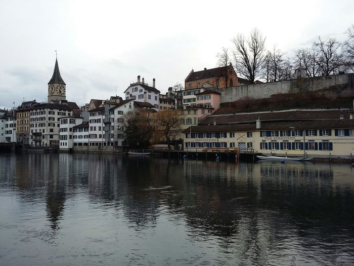 Zürich Waterfront. · Architecture City Planning Urban Landscape Urban Geometry Water Reflections Reflections