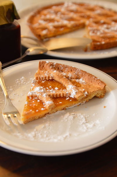 apticots cake crostata albicocche Plate Indoors  Food Food And Drink SLICE Table Studio Shot Ready-to-eat Homemade No People Close-up Sweet Food Comfort Food Apple Pie
