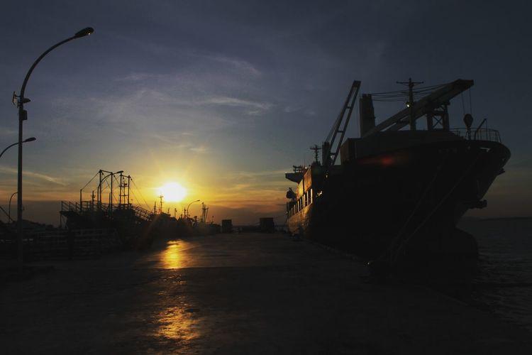 Port of Tunon Taka Nunukan