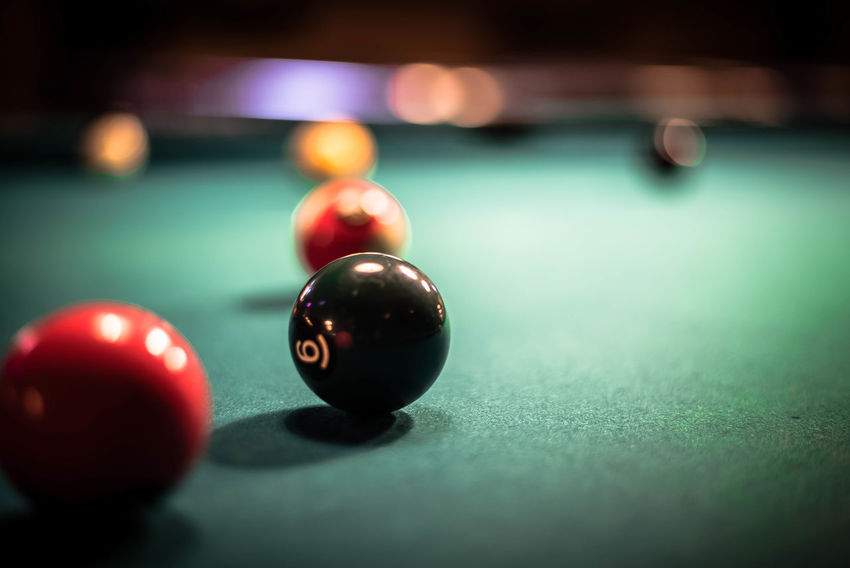 in the game.. From My Point Of View Licht Und Schatten Nikon Open Edit Perspective Billard Blurred Background Close-up Darkness And Light Eye4photography  Focus Focus On Foreground Game Indoors  Leisure Activity Light And Shadow Nikonphotography Playing Billard Pool - Cue Sport Pool Ball Pool Table Pooltable Selective Focus Still Life Table
