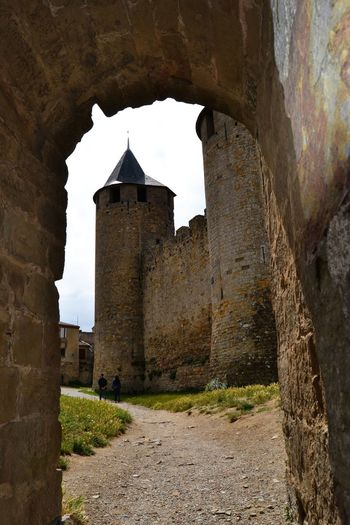 Architecture Building Exterior Built Structure Castle Castles History Old Ruin Stone Arch Through The Arch