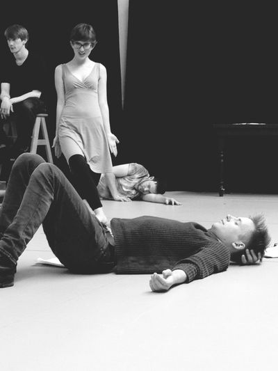 The sleeping and the musical theatre babes Rehearsing Rehearsal Sleeping Musical Theatre