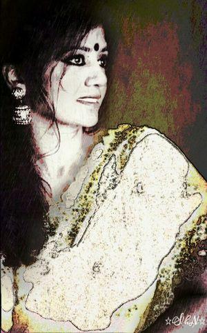 Editstepbystep Best Friend Selfie Portrait Artisticselfie Art, Drawing, Creativity Kisess For You😘 Indianbeauty Selfie ✌
