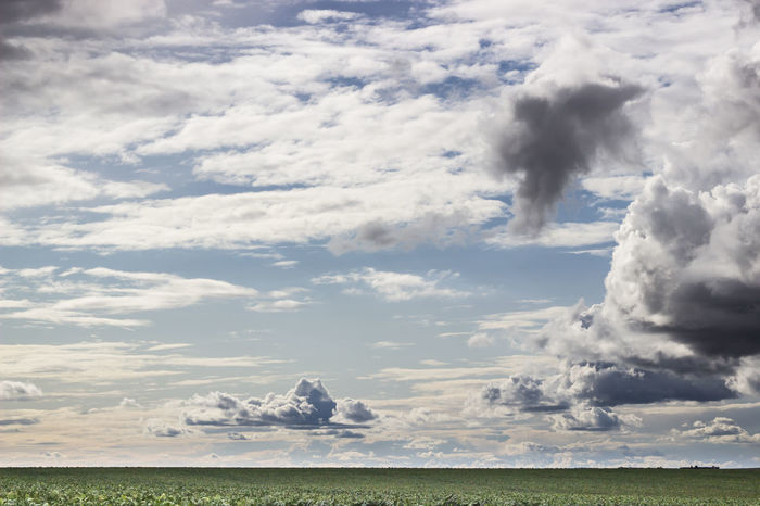 Beauty In Nature Cloud - Sky Landscape Nature No People Outdoors Power In Nature Scenics Sky