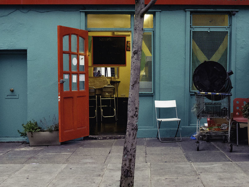 Jay Dee's. Architecture Building Built Structure Caribbean Food Colour Of Life Day No People Portobello Road Restaurant Store Street Photography Urban Exploration ColorPalette #urbanana: The Urban Playground