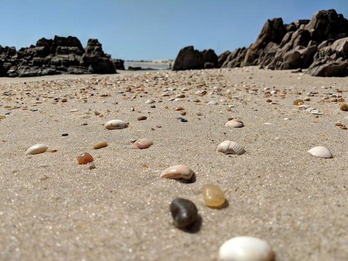 Sand Dune Clear Sky Beach Desert Sand Pebble Sky Pebble Beach Geology