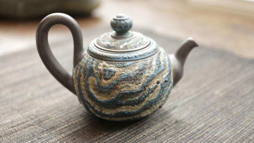 Tea Teamnikon No People Tea - Hot Drink Antique Close-up Teapot Pottery Ancient Cats 🐱
