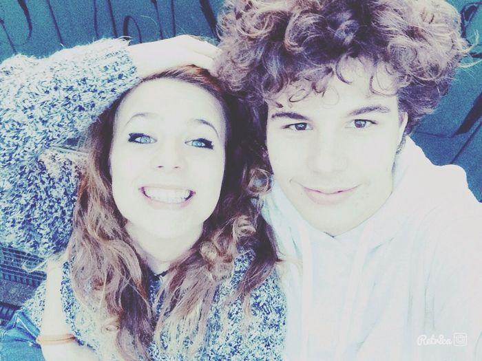 Sei la mia vita piccolo,ti amo.❤️