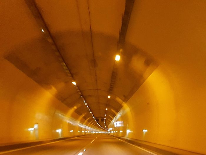 Transportation Built Structure Tunnel Architecture Car Road Lighting Equipment The Way Forward