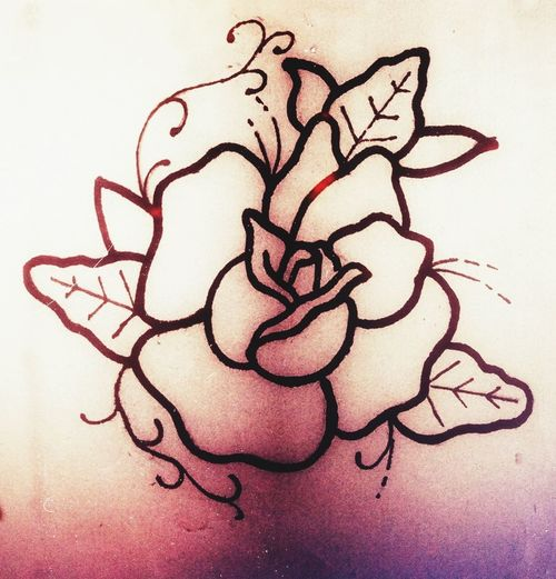 Quick rose tattoo design RoséTattooDrawingYoungtattoodesigner