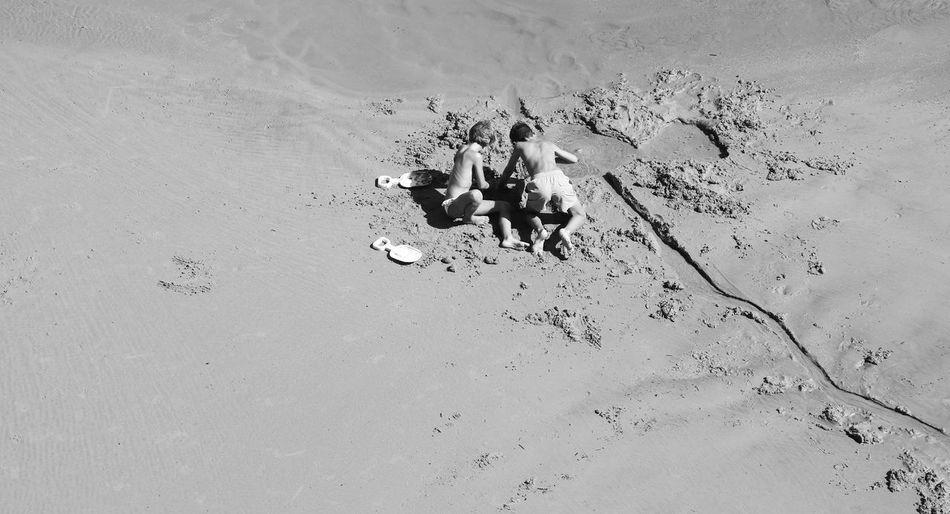 Jeu de sable,