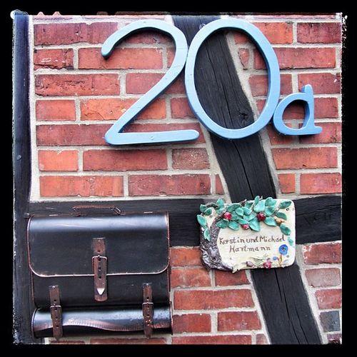 our new mailbox :-) Briefkasten Mail Inbox Mailbox Homestuff