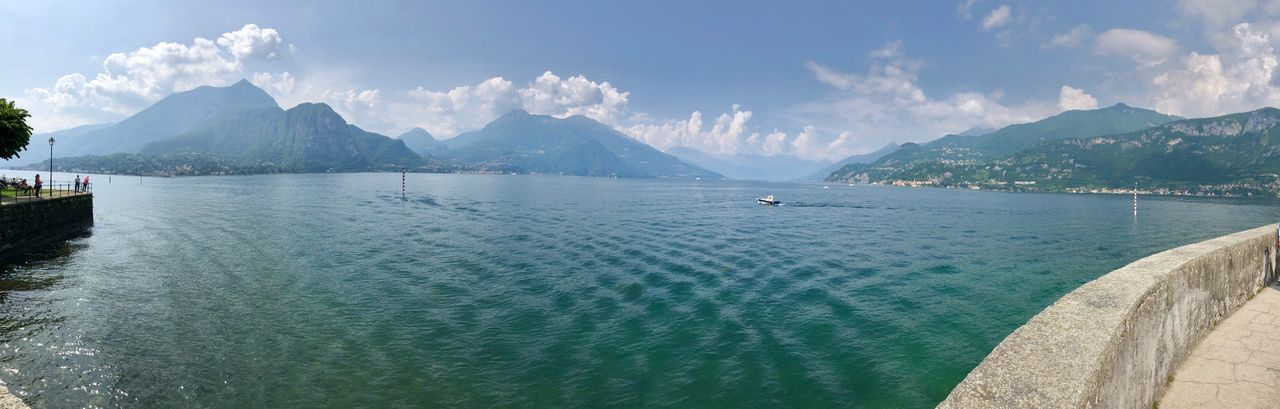 Lame Como junction seen from Bellagio (Menaggio on left shore, Varenna on the right) Natura Nature Lakecomo Countryside Lombardy Lombardia, Italy Lakeview Lakeside Lakeshore Lake View Lake Lago Paesaggio Landscape