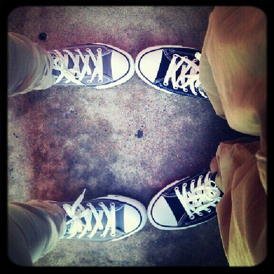 Our Converse.