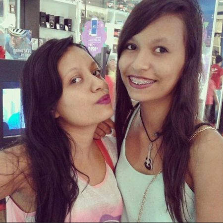 Haha Hermana Criola Guria Pentelha caçula @vish_deysi
