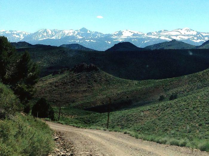 Mountain Range Beauty In Nature Scenics Tranquil Scene Road ambush