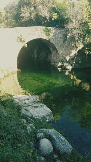 Romano pont Reflection Nature Water No People Beauty In Nature