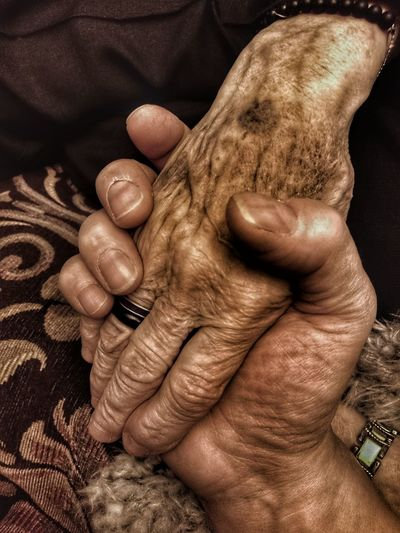 Human Hand Human Body Part Human Finger Togetherness Real People Aged People Adult Olderbeauty My Mothers Hand My Mum ♥  Old But Awesome Age Ageless Fragility Frailty Time To Reflect My Hand  My Mother And I Time Is Precious! Popular Photos For Friends That Connect  82yearsold EyeEmNewHere Be. Ready. This Is Aging The Portraitist - 2018 EyeEm Awards