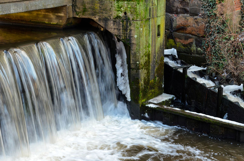 Architecture Beauty In Nature Building Exterior Built Structure Day Flowing Water Fuel And Power Generation Hoffi99 Hydroelectric Power Long Exposure Motion Nature No People Outdoors Power In Nature River Rock - Object Water Waterfall Watermill