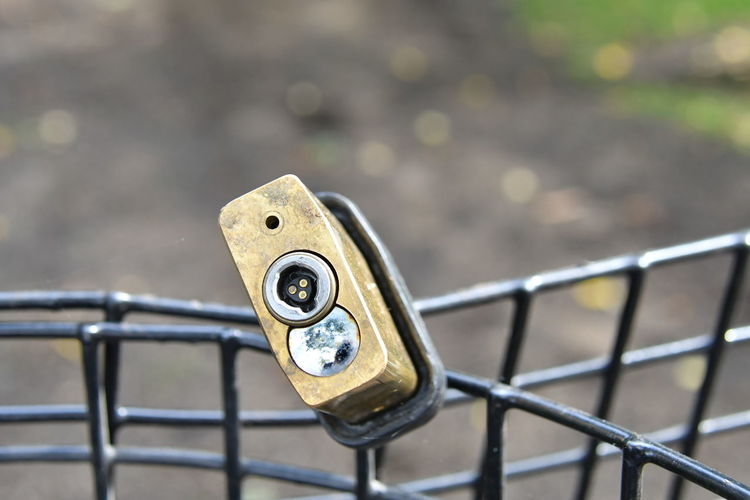 New York Battery Park Close-up Connection Day Focus On Foreground High Angle View Lock Metal Nature No People Outdoors Pattern Railing Safety Security Selective Focus Silver Colored Sunlight Transportation Vorhängeschloss Water Wood - Material