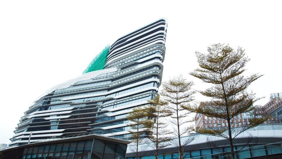 University in Hong Kong Lifestyles Modern Architecture Ship Design University Modern Architecture Building Exterior Skyscraper Built Structure Office Business Finance And Industry Cityscape Outdoors