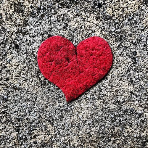 Dirty Love Red And Black Broken Heart Heavy Hearted💔 Trampled Heart Heart Shape Love Emotion Red Creativity Art And Craft Close-up No People Textured  Shape Single Object Directly Above EyeEmNewHere EyeEmNewHere
