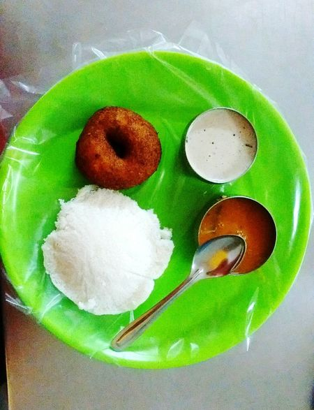 Food Food And Drink Green Color Freshness Ready-to-eat Plate Idly Vada Idly Idly N Sambar Indian Food Travel Food Photography Foodie Food Lover
