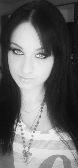 Beautiful Eyes Check This Out Black & White