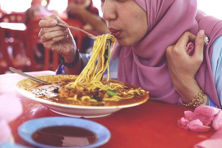 Makan Mee Udang Food And Drink Meeudang BNO Bagannakhodaomar Udang Prawn Prawn Noodles