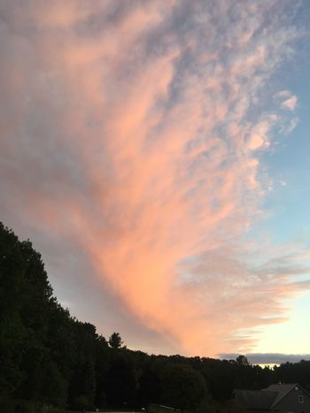 Beauty In Nature Cloud Cloud - Sky Cloudscape Nature No People Outdoors Scenics Sky Storm Clouds Sunset Sunset_collection Sunsets Tree