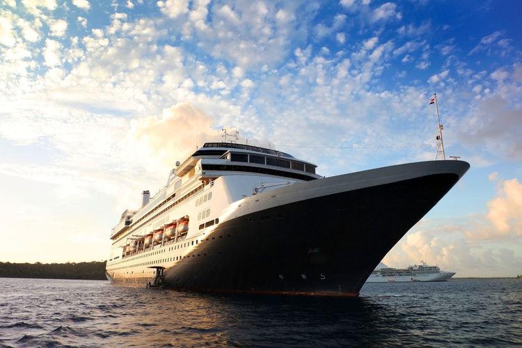 Cruise ship at