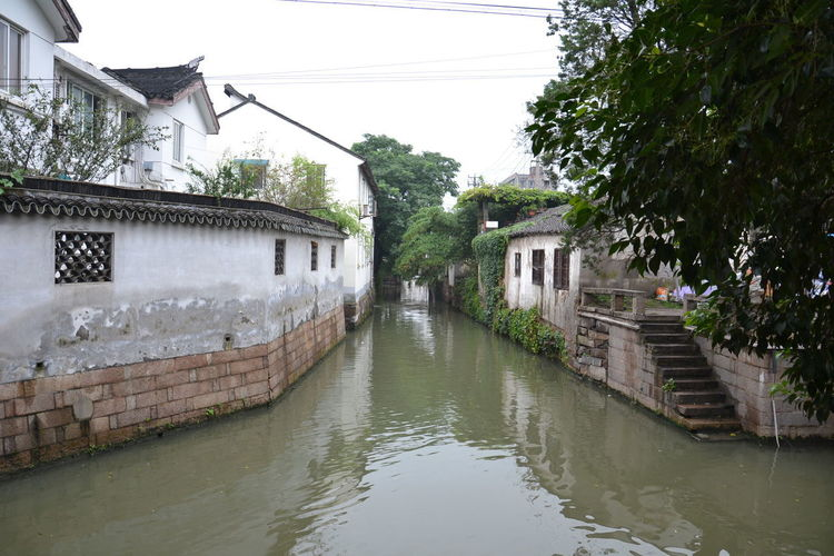 Architecture Building Exterior Built Structure China Day Nature No People Outdoors Sky Suzhou Suzhou, China Tree Water Watertown