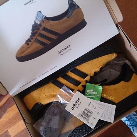 TodaysPickup Adidasjamaica Thebrandwiththethreestripes Adidasislandseries2015 Adidicted Adidas Trefoilonmyfeet