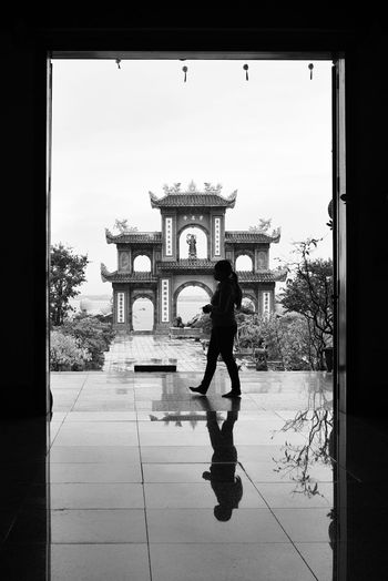 Devotion Architecture Art Is Everywhere Black & White Black And White Blackandwhite Buddhism Buddhist Buddhist Temple Cultures EyeEm Best Shots EyeEm Diversity EyeEm New Here Reflection Reflection_collection Reflections Sacred Sacred Places Silhouette Silhouettes The Secret Spaces Travel Photography Unrecognizable Person Vietnam The Architect - 2017 EyeEm Awards Place Of Heart Breathing Space The Week On EyeEm Black And White Friday An Eye For Travel Stories From The City