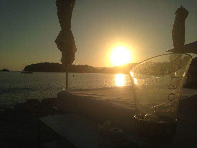 Ibiza, Spain Blue Marlin Clear Sky Drink Sun Sunset Sunsets Vacations