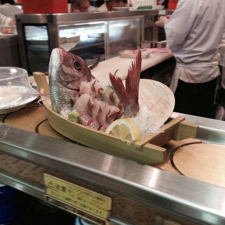 Conveyor Belt Sushi Sushi-go-round ひがしもの ♪ここは回転寿司の域を超えてる! Food Porn