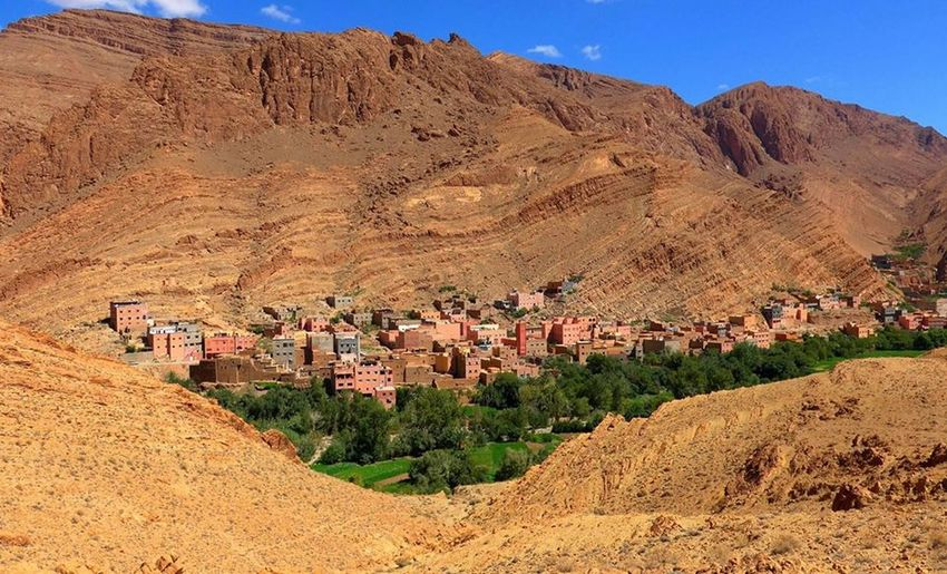 Maroc City Life Tinghir Ait Taritan