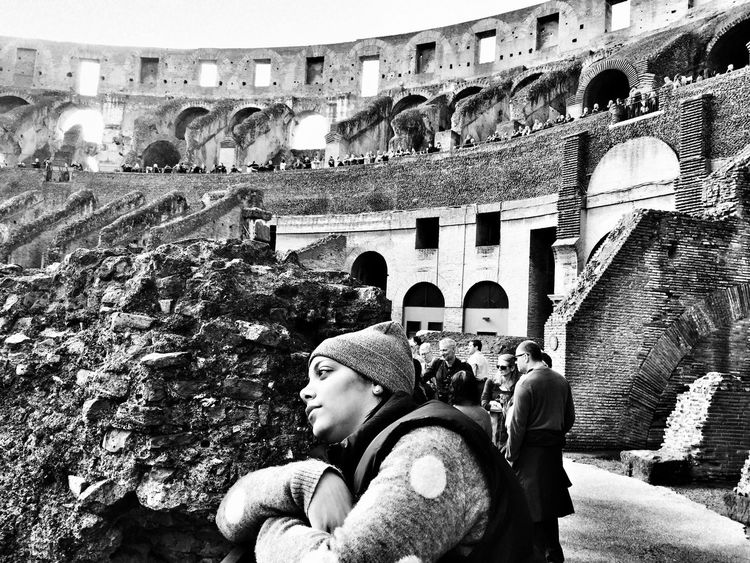 Blackandwhite Rome Italy Architecture Landmarks Capture The Moment Colloseum