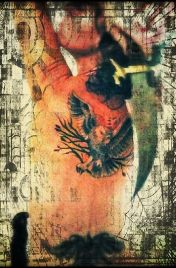 Dragon Tattoo  Owl Tattoo Tattooedwomen Backtattoo Tatts Owl Dragon Tattoo ❤ Tattoomodels Tattoos Knives Daggers
