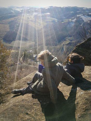 ... enjoying sun rays Sunlight Day Outdoors Sunlight Nature