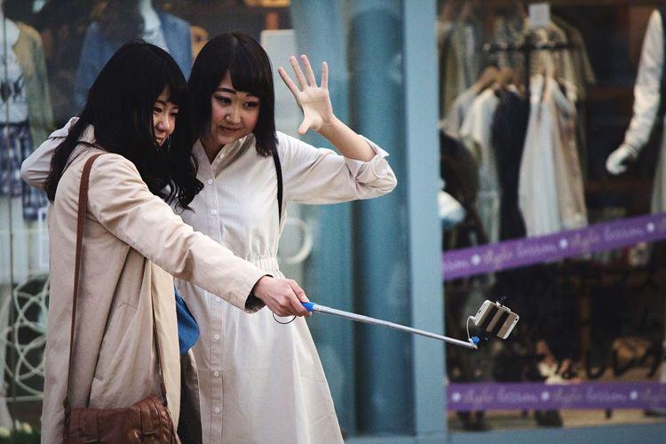 Girls Selfie Open Edit OpenEdit Streetphotography Japan Selfie Time