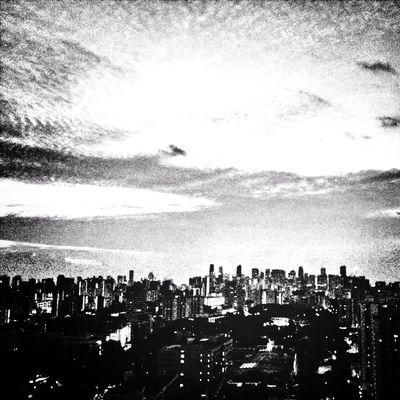 Sunrise... Cityscapes Blackandwhite
