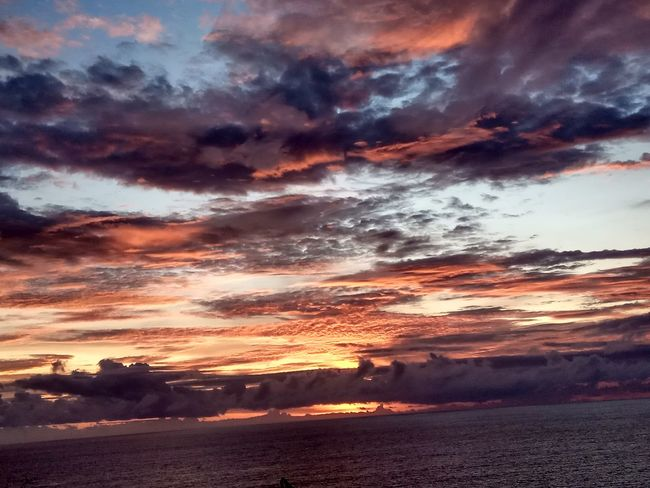 Nature Sky And Clouds Waiting For Sunset Beautiful View ❤ Sea Colorful Vacation Photos   Bali INDONESIA Enjoying Life