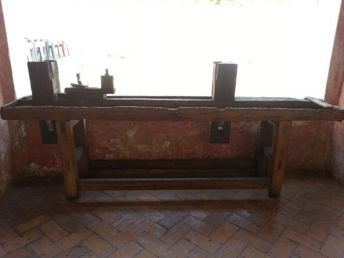 Old lathe