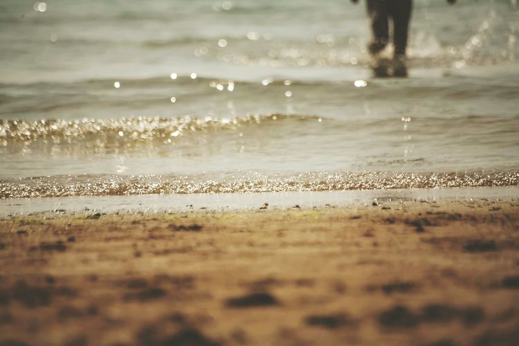 Sea Tide Coming In Up Close Beach Photography Beachlife Clean Water Beautiful Summertime Waves Sunlight Sparkle Eye Em Nature Lover EyeEm Best Shots Eye4photography  Canon5D