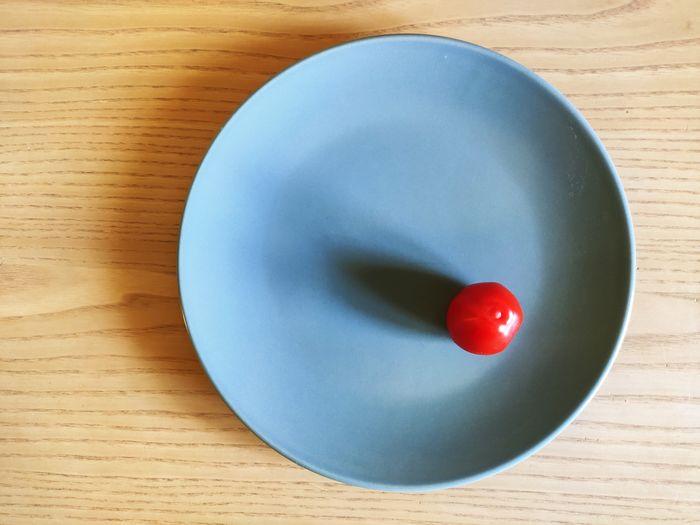 Red tomato. alone.