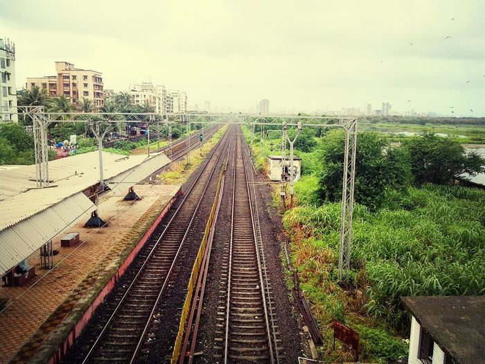Public Transportation IPhoneography Rail Road Tracks Travel