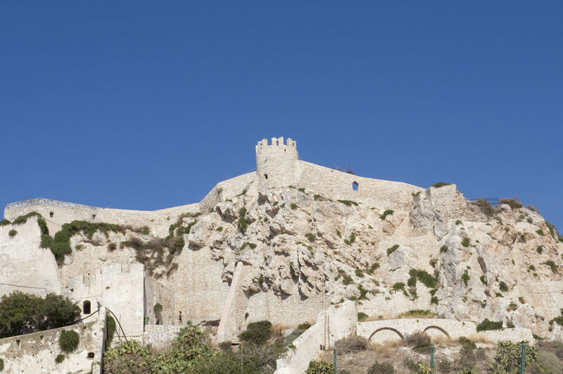 Low Angle View Of Fortress San Nicola