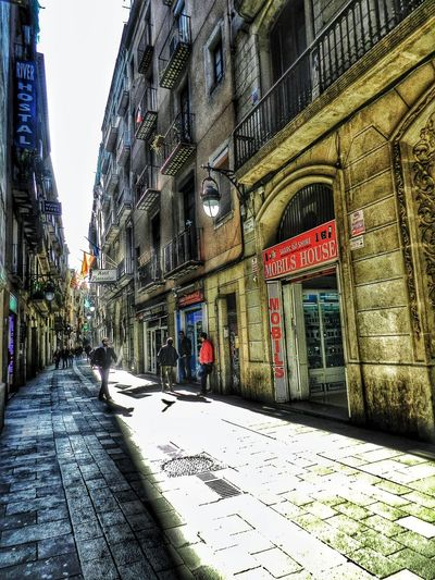 Beautiful Catalunya Streets Shining